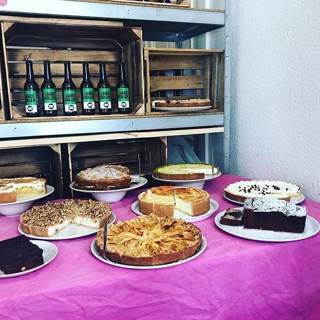 Kuchen Buffet für die Veranstaltung