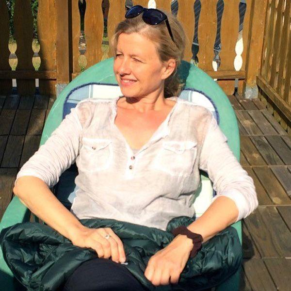 Birgit unterstützt Barbaras Team im Verkauf